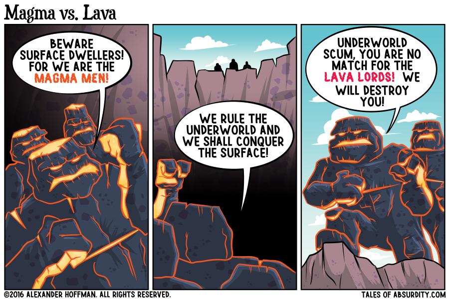 Magma Vs Lava Related ...